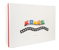 Boy's Train Keepsake Box