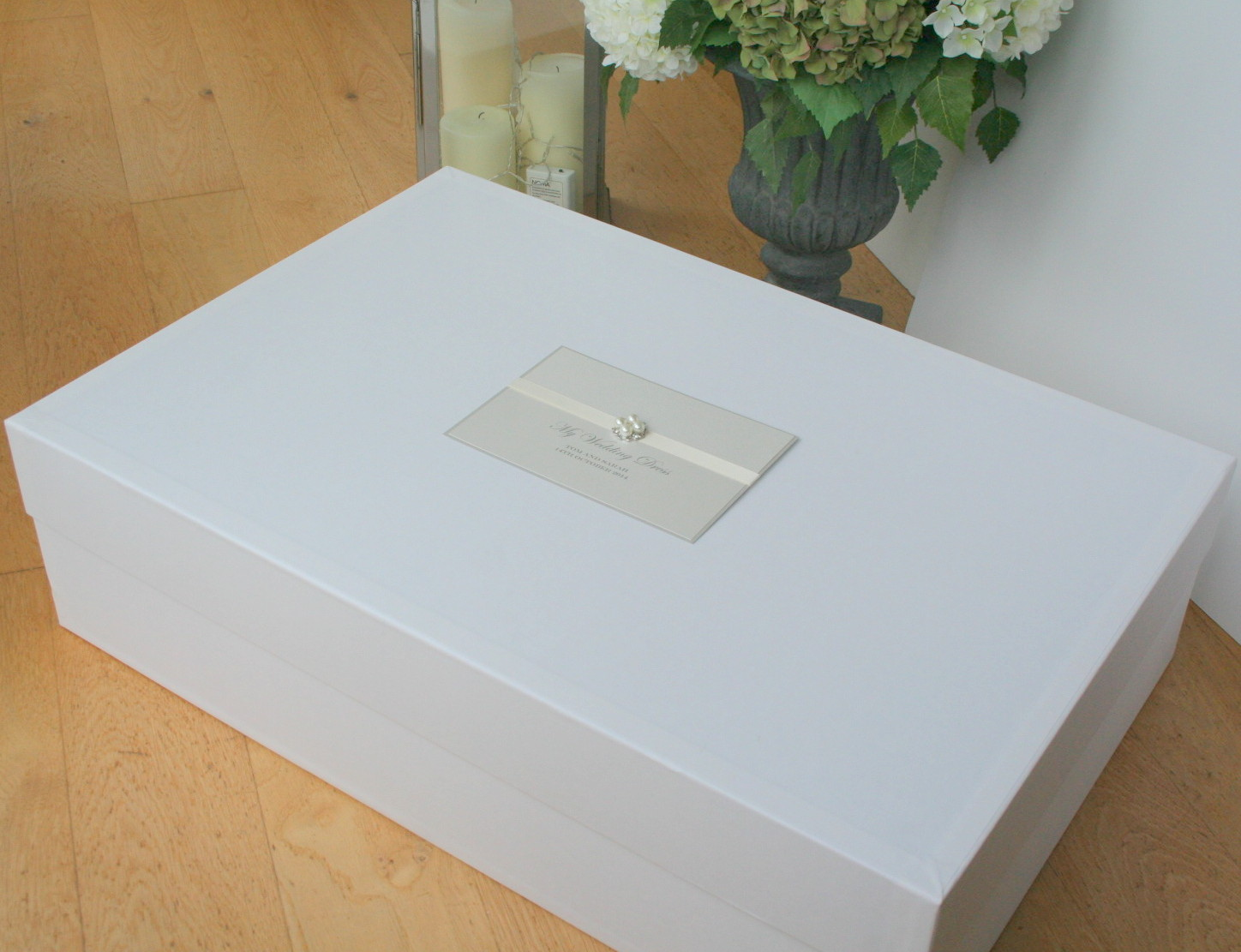 Luxury Couture Collection Wedding Dress Storage Box U0027Avau0027