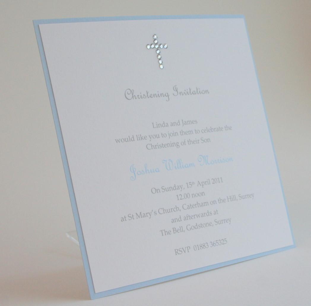 Beautiful Baptism Invitations as perfect invitations ideas