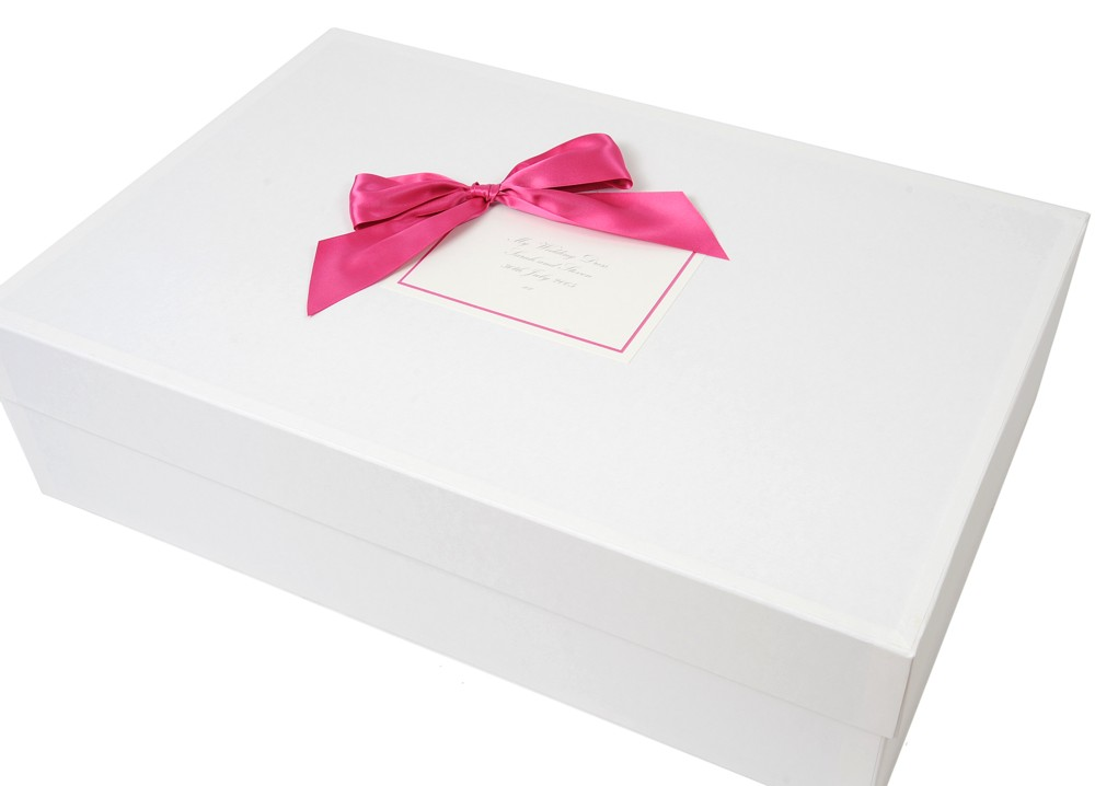 Luxury wedding dress storage box 39 classic 39 design for Preservation box for wedding dress