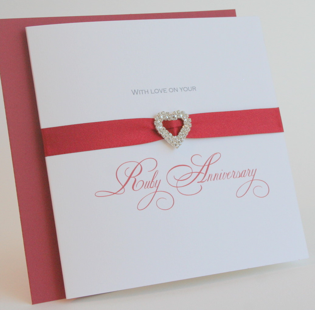 Personalised Wedding anniversary cards