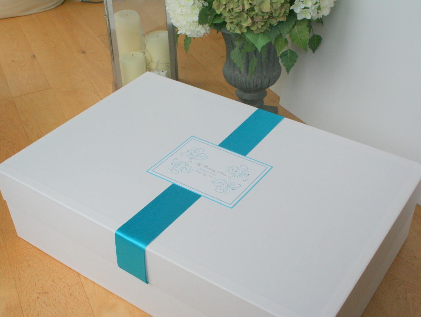 Storage boxes for wedding dresses junoir bridesmaid dresses for Wedding dress storage box
