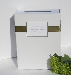 'Classic' Wedding Cards and Gift Token Posting Box