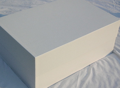 Nice Luxury Plain Wedding Dress Storage Box,